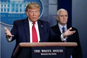 """白宫周六未举行新冠疫情发布会 特朗普发推称发布会""""不值得花时间和精力!"""""""