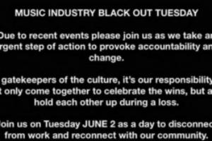 音乐圈在INS上掀起Blackout Tuesday运动 黑色方块占领社交平台