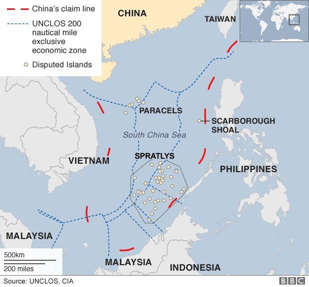 南海争端再起!美国称中国对这些资