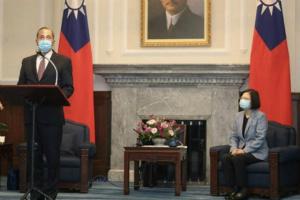 【中美关系最新动态】台湾告诉来访的美国卫生部长 中国寻求把台湾变成下一个香港