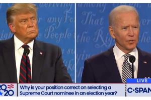 """现场一片混乱!特朗普反复插话 拜登被激怒:""""你能闭嘴吗?"""""""