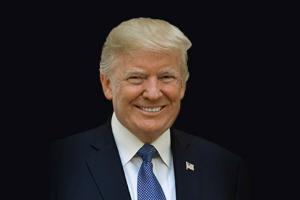 """出院后首次公开露面!特朗普警告:如果民主党获胜 美国将成为""""社会主义国家"""""""