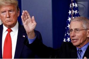 """特朗普称福奇博士是""""灾难"""":听他的话会死50万人 人们厌倦了""""白痴""""福奇、厌倦了新冠"""