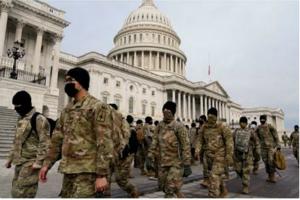 重兵防守!美军向华盛顿大举增兵1.5万人 已获授权可使用致命武器