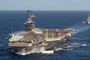 重磅!五角大楼宣布尼米兹号航母战斗群调离中东 美军三艘航母齐现身印太地区