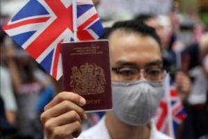 中英局势!英媒:两周内近5000名港人申请BNO签证移民