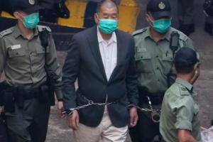 最新消息!黎智英涉非法集结罪被判12个月