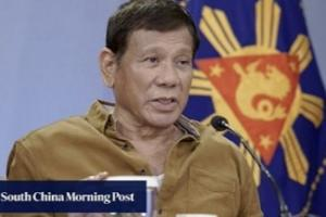 """南海紧张局势恐升温!菲律宾总统杜特尔特威胁要动用军舰对南海能源资源""""宣示主权"""""""