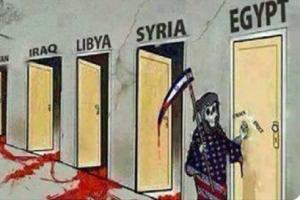 """怎么回事?中国驻日本大使馆推文讽刺美国是""""死神"""" 以色列致电中方表不满、反犹漫画遭删除"""
