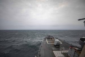 最新重磅消息!美国海军驱逐舰穿航台湾海峡 中国东部战区:全程进行跟踪监视、随时应对一切威胁挑衅